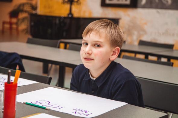 国立书法学校优美书写艺术儿童班结课