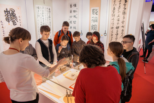 Excursions for schoolchildren of the 734th Moscow school