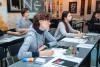 Начало занятий нового курса в Национальной школе каллиграфии