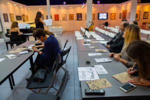 """Pen, violin and piano: The """"Calligraphy About Moscow"""" exhibition has opened"""