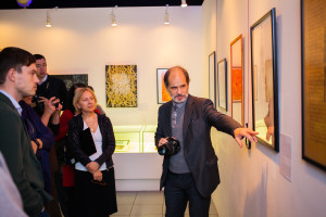 "Pen, violin and piano: The ""Calligraphy About Moscow"" exhibition has opened"