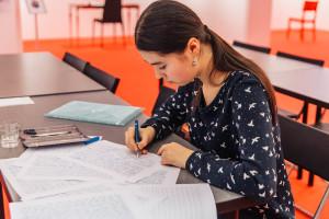 Выпуск курса «Красивый почерк»