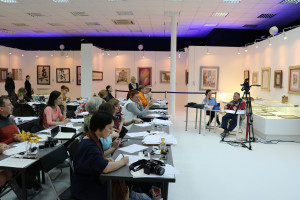 """""""Spencerian"""" Intensive course by Michael Sull in Moscow"""