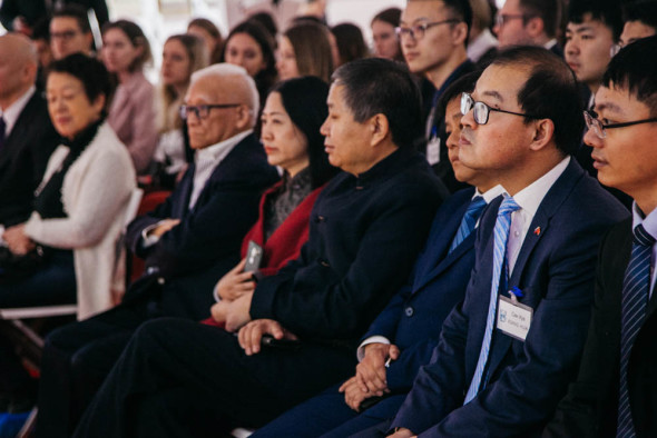 "A conference for Russian and Chinese students named ""Be grateful, serve the community"""