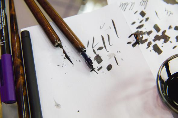 Lettering crash course