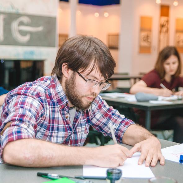 Весенний выпуск Национальной школы искусства красивого письма