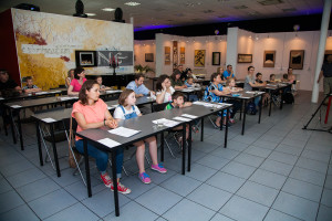 Spring presentation of the children's calligraphy course