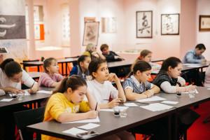 Экскурсия с мастер-классом для детей школы № 1282 города Москвы