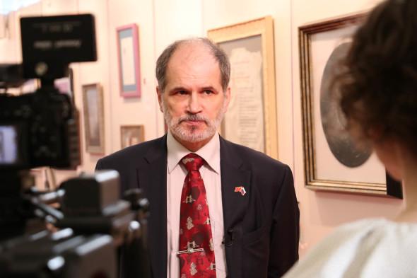 《伟大的中俄书法展》在俄罗斯联邦国家杜马开幕
