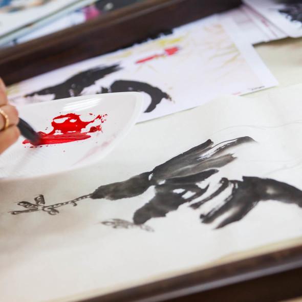 《中国画之大美雄鸡》大师班
