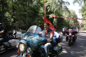 """""""友谊之路""""俄中摩托拉力车赛新闻发布会"""