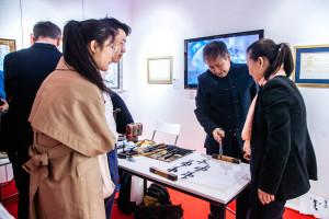 Выступление китайского «Ансамбля Шаньдунского театра Люй» в Современном музее каллиграфии