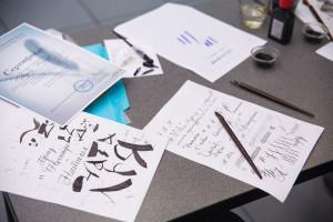 《钢笔书法  英文斜体》培训班