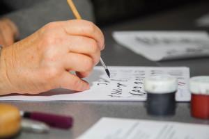 Brushpen Calligraphy workshop