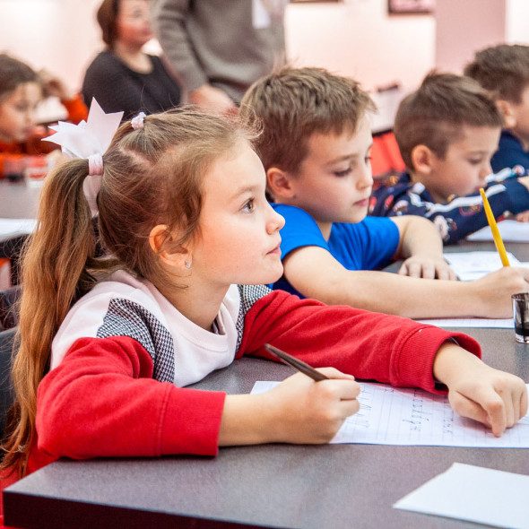 Мастер-класс по каллиграфии для детей
