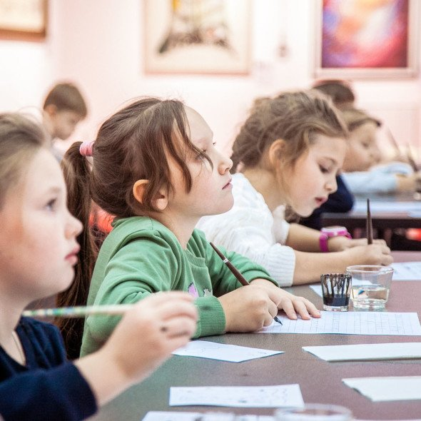 Calligraphy workshop for children