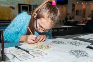 Мастер-класс по созданию рождественской открытки
