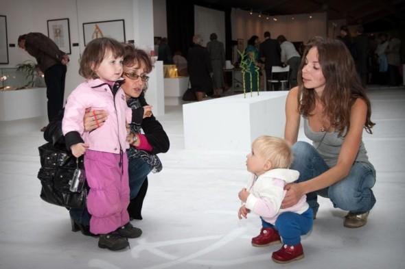 最年轻的展览观众