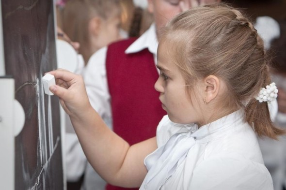 Самые юные посетители выставки