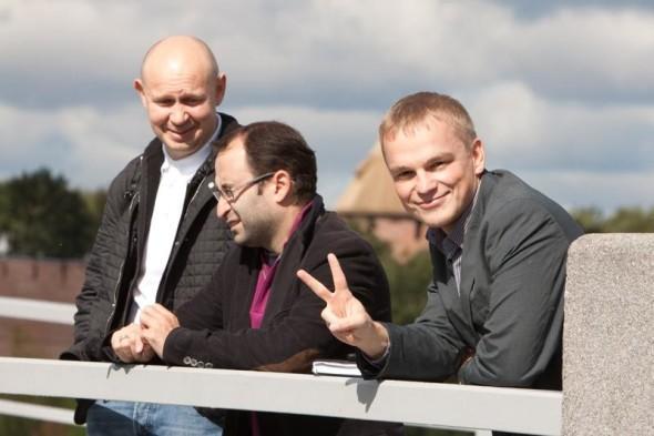 第三届国际书法展的团队