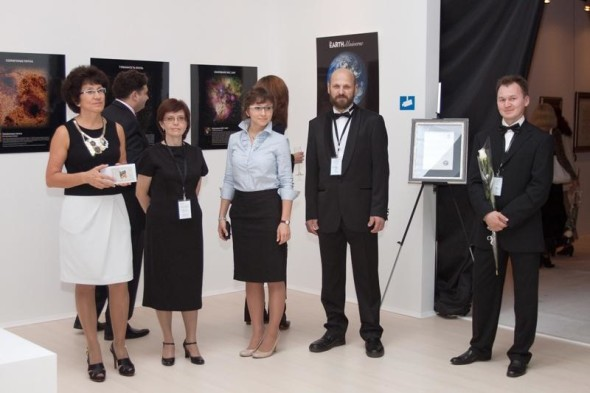 Organizers of the III International Exhibition of Calligraphy.