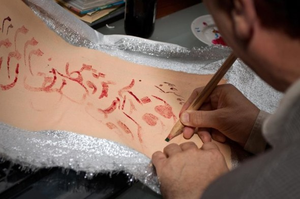 Three days of the fest of calligraphy in V. Novgorod