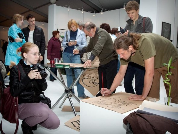 Three days of the fest of calligraphy in V. Novgorod