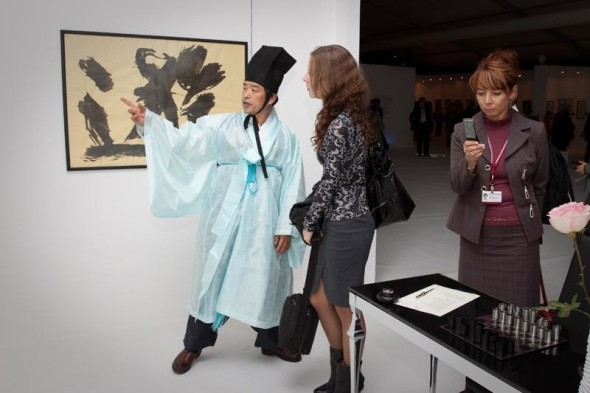 Beautiful commencement of the III International Exhibition of Calligraphy