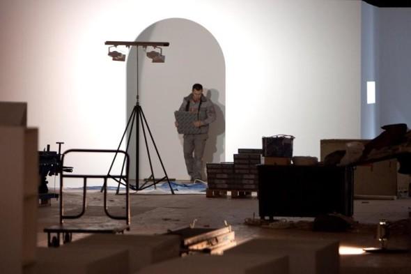 大诺夫哥罗德展览开幕前几天