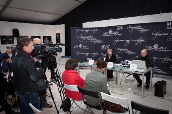 За несколько дней до открытия выставки в Великом Новгороде