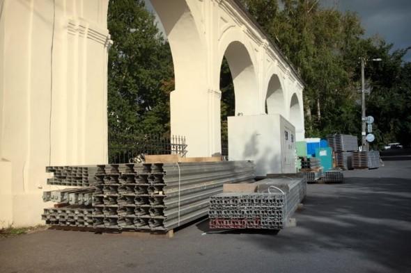 Возведение павильонов для III Международной выставки каллиграфии