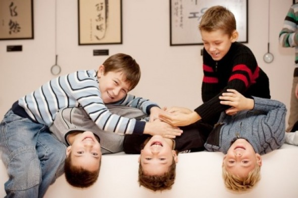 Дети, улыбки и много радости