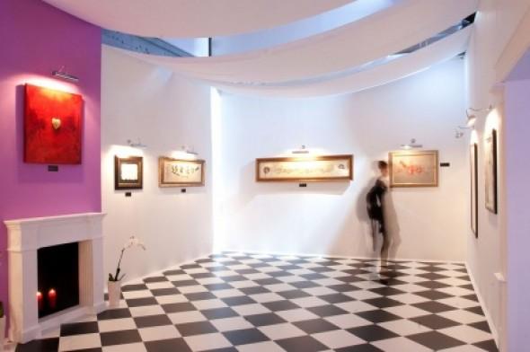Международная выставка каллиграфии: фотоэкскурсия