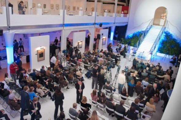 Opening of the II International Exhibition of Calligraphy