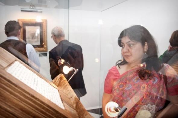 Открытие II Международной выставки каллиграфии