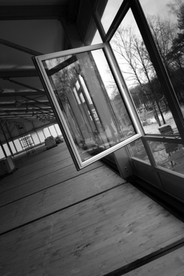 Manifold beauty of the new pavilion
