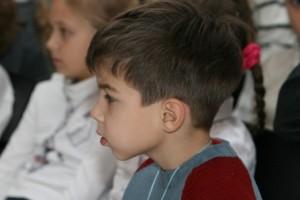 Beautiful children's faces