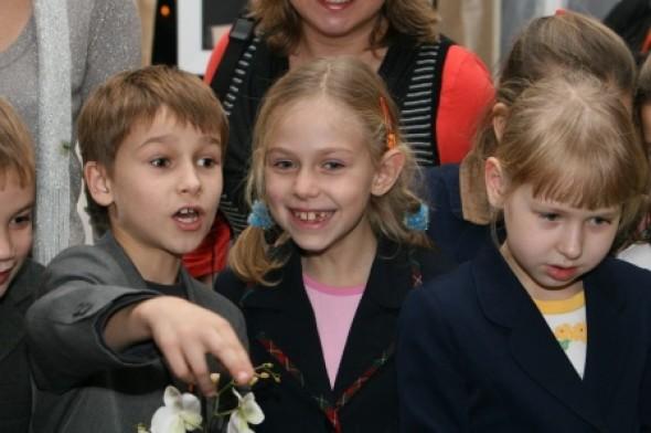 漂亮的孩子们