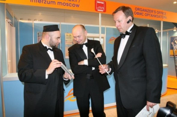 Presentation of the International Exhibition of Calligraphy at the Crocus Expo International Exhibition Center