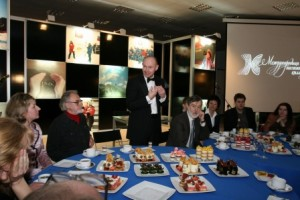 Presentation of a new MVK project: Calligraphy - the Art of Excellence