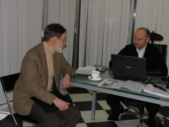 Встреча Петра Чобитько с Алексеем Шабуровым
