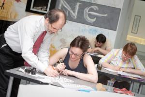 Второй выпуск Национальной школы искусства красивого письма
