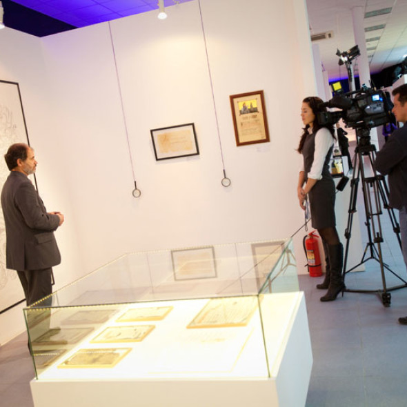 Grand opening of a new season at the Contemporary museum of calligraphy