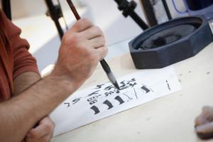 Мастер-класс каллиграфа Егора Лобусова «Процесс каллиграфии как средство организации сознания и тела»