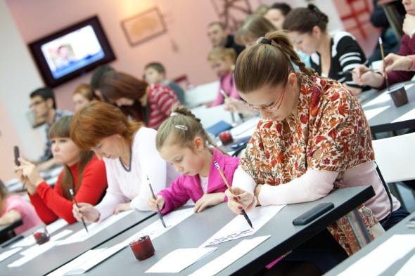 """叶戈尔·罗布索夫""""书法提高精神和个人修养""""书法大师班"""