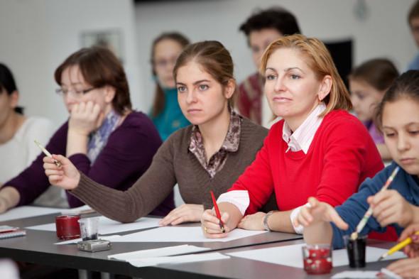 Artyom Lebedev's workshop class