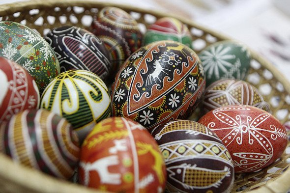 The Day of Slavic Easter egg