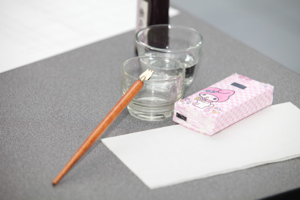A new intake at the School of Calligraphy