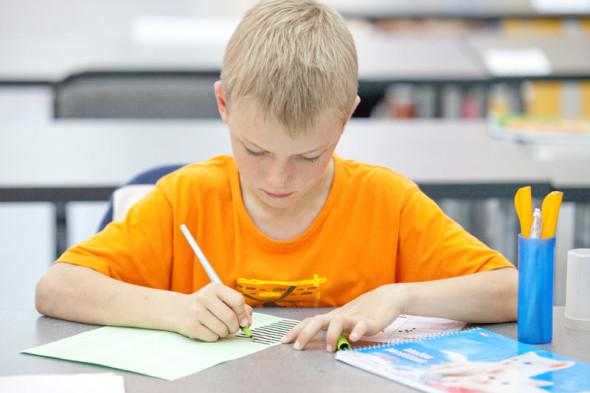 Новый набор в Школе каллиграфии