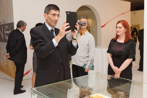 The opening of the IV International Exhibition of Calligraphy